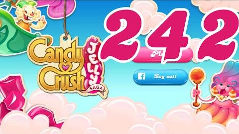 Candy Crush Jelly Saga Level 242 No Boosters