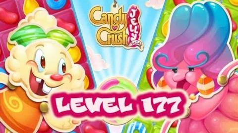 Candy Crush Jelly Saga Level 177