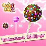Colourbomb Lollipop