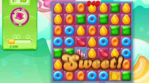 Candy Crush Jelly Saga Level 1 (Facebook) No Boosters 3 Stars!