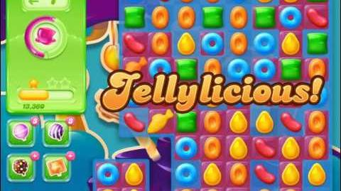 Candy Crush Jelly Saga Level 421 (No boosters)