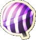 Striped Lollipop Hammer Icon