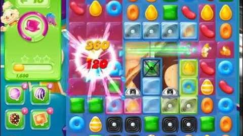 Candy Crush Jelly Saga Level 428 (3 star, No boosters)