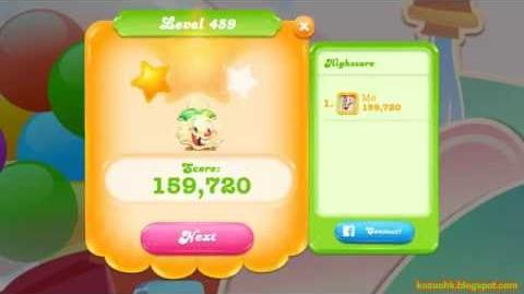 Candy Crush Jelly Saga Level 459 (3 star, No boosters)