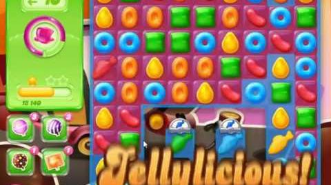 Candy Crush Jelly Saga Level 386 - NO BOOSTERS