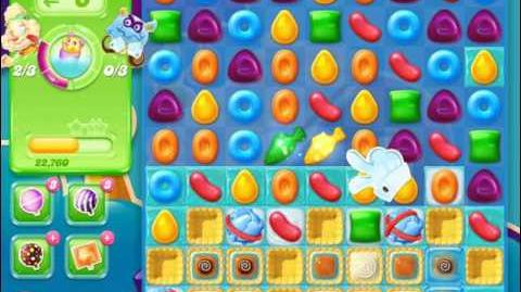Candy Crush Jelly Saga Level 424 (3 star, No boosters)