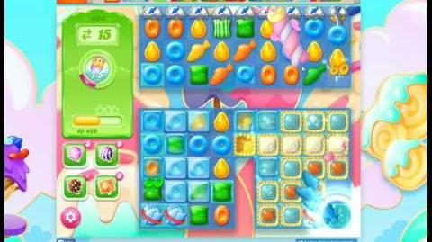 Candy Crush Jelly Saga Level 494 No Booster 3 Stars (30 moves)