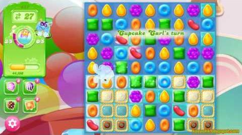 Candy Crush Jelly Saga Level 457 (3 star, No boosters)