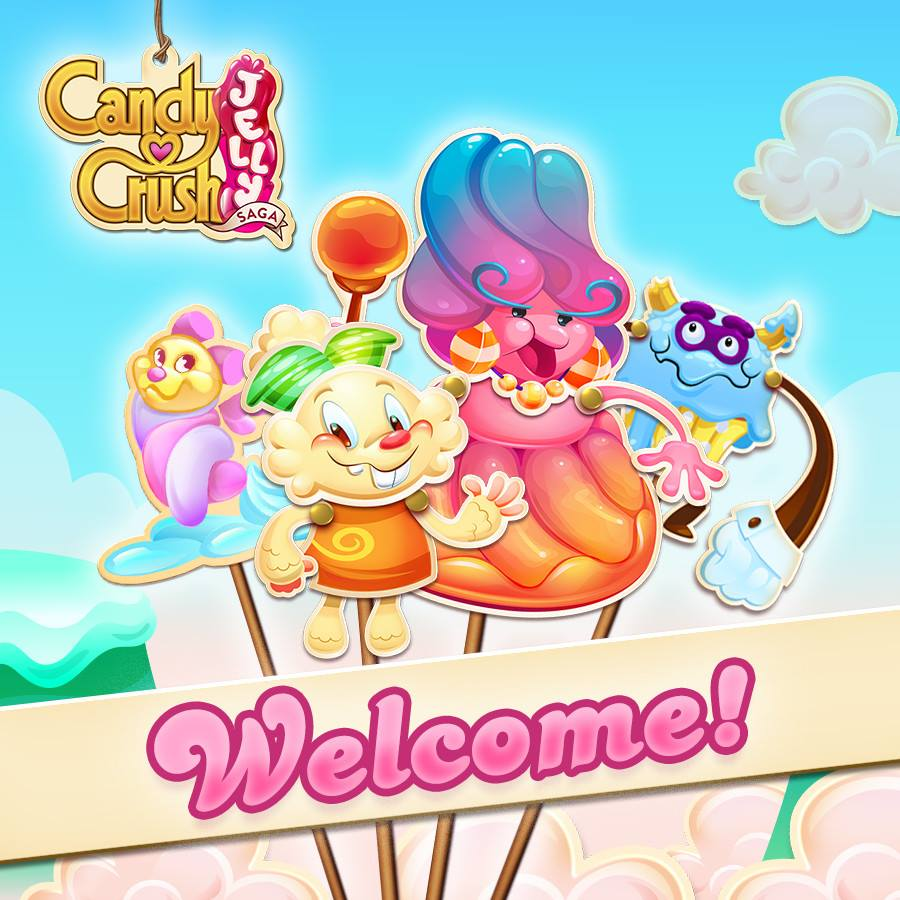 Candy crush jelly saga launch date