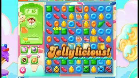 Candy Crush Jelly Saga Level 497 No Booster 3 Stars (Ver. 2)