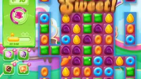 Candy Crush Jelly Saga Level 465 - NO BOOSTERS
