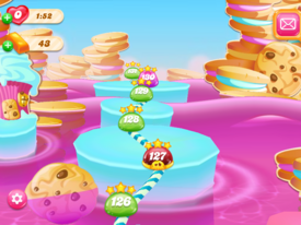 Cookie Falls Map 2