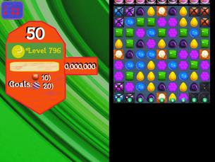 Super Saga Level 796
