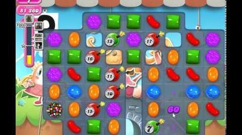Candy Crush Saga Level 735 (18moves, 3 Stars)