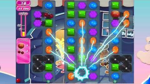 Candy Crush Saga Level 836 SUPER FUN LEVEL! No Booster 3*