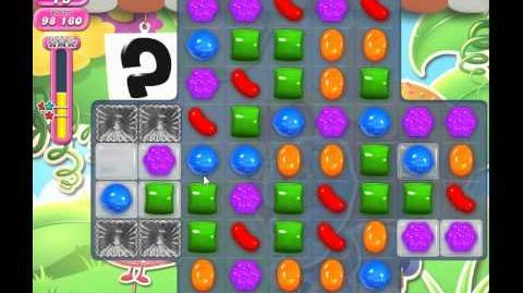 Candy Crush Saga Level 810 (No booster, 3 Stars)