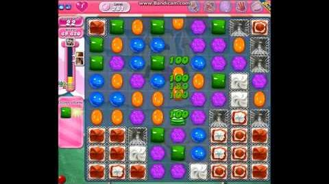 Candy Crush Saga - Level 281 Get Green Squares!