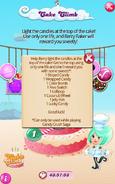 Cake Climb Reward