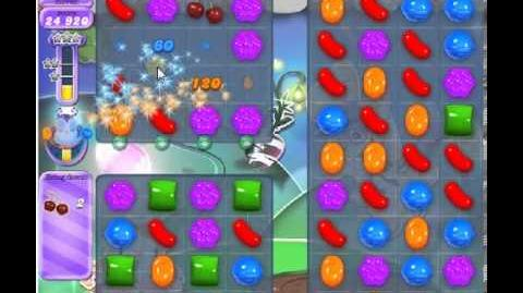 How to beat Candy Crush Saga Dreamworld Level 76 - 2 Stars - No Boosters - 80,020pts