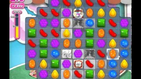 Candy Crush Saga Level 284 - 1 Star - no boosters