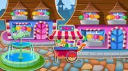 Candy Town background on mobile devices (new)