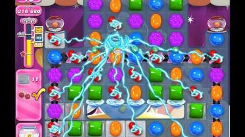 Candy Crush Saga Level 1993 ( New with 25 Moves ) No Boosters 2 Stars