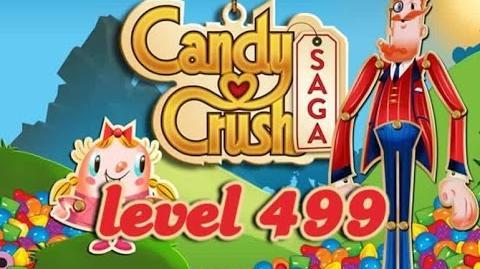 Candy Crush Saga Level 499 - ★★★ - 379,240