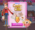 Candy Crush Saga welcome