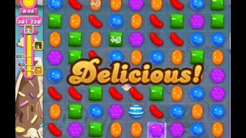 Candy Crush Saga Level 43 ( 60 Seconds and More Locked Candies ) No Boosters 3 Stars