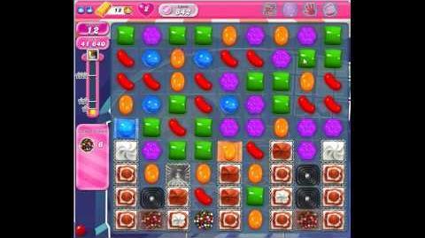 Candy Crush Saga Level 842 No Boosters
