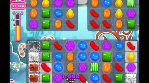 Candy Crush Saga Level 307 - 3 Star - no boosters