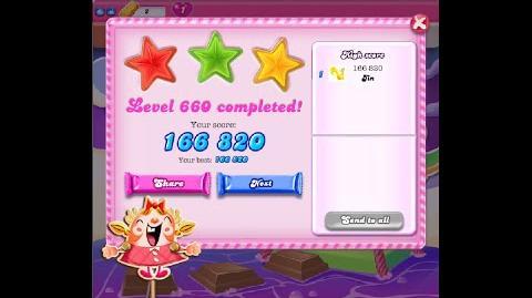 Candy Crush Saga Level 660 ★★★ NO BOOSTER