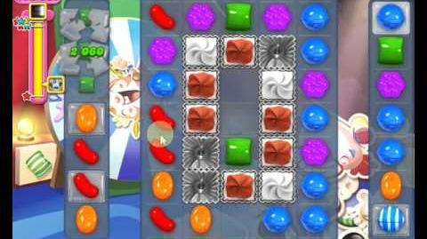 Candy Crush Saga LEVEL 1378 new version (25 moves)