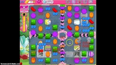 Candy Crush Saga Level 580 Walkthrough No Booster