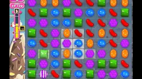 Candy Crush Saga Level 46 - 3 Star - no boosters