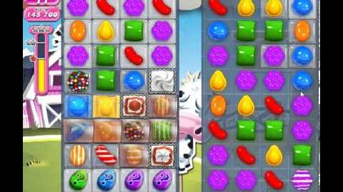 Candy Crush Saga Level 233 - 3 Star - no boosters