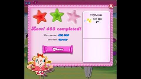 Candy Crush Saga Level 463 ★★ NO BOOSTER