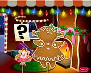 Miss Gingerbread what are you doing
