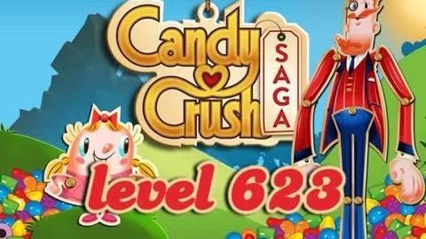 Candy Crush Saga Level 623 - ★★