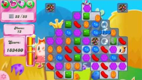 Candy Crush Saga LEVEL 2445 NO BOOSTERS (with candy bombs)