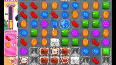 Candy crush saga - level 689 - 3 stars no booster used