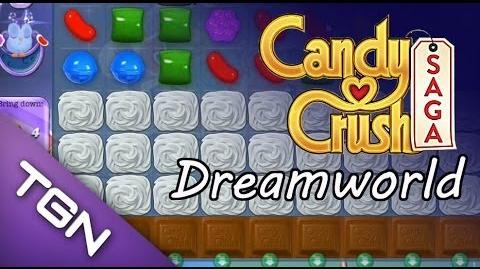 Candy Crush Saga Dreamworld - level 85