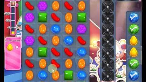 Candy Crush Saga LEVEL 1385 new version (20 moves)