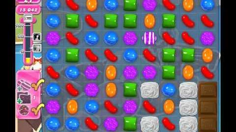 Candy Crush Saga Level 136 - 2 Star - no boosters