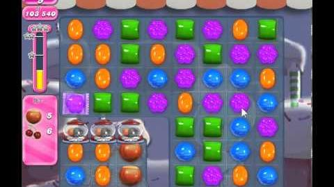 Candy Crush Saga Level 357 - 1 Star - no boosters