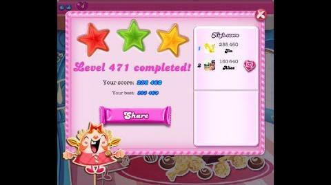 Candy Crush Saga Level 471 ★★★ NO BOOSTER