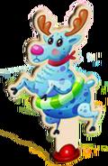 Reindeer character before