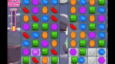 Candy Crush Saga Level 353 - 1 Star - no boosters