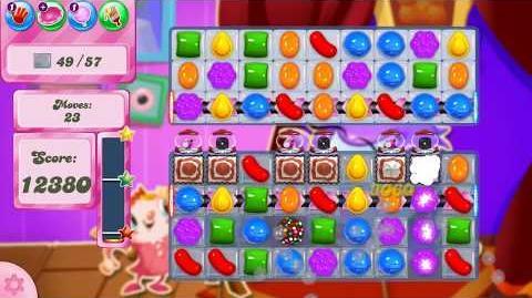 Candy Crush Saga Level 2574 NO BOOSTERS