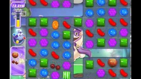 How to beat Candy Crush Saga Dreamworld Level 74 - Stars - No Boosters - 139,840pts